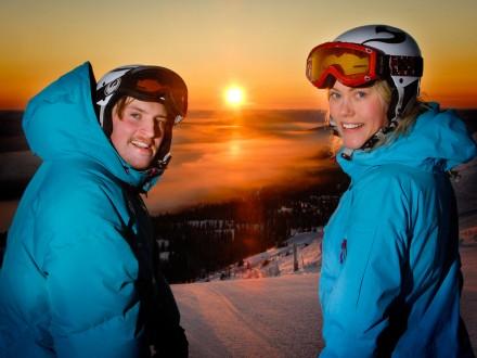 trysil familie skitur